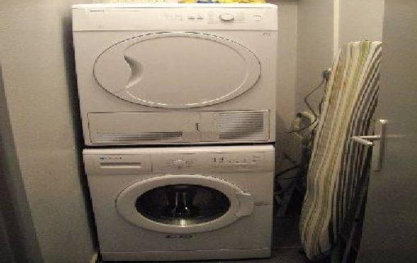 Location de vacances - Gîte à Metz - lave-linge et sèche linge