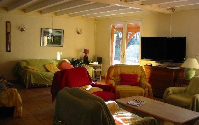 Location de vacances - Villa à Seignosse - salon