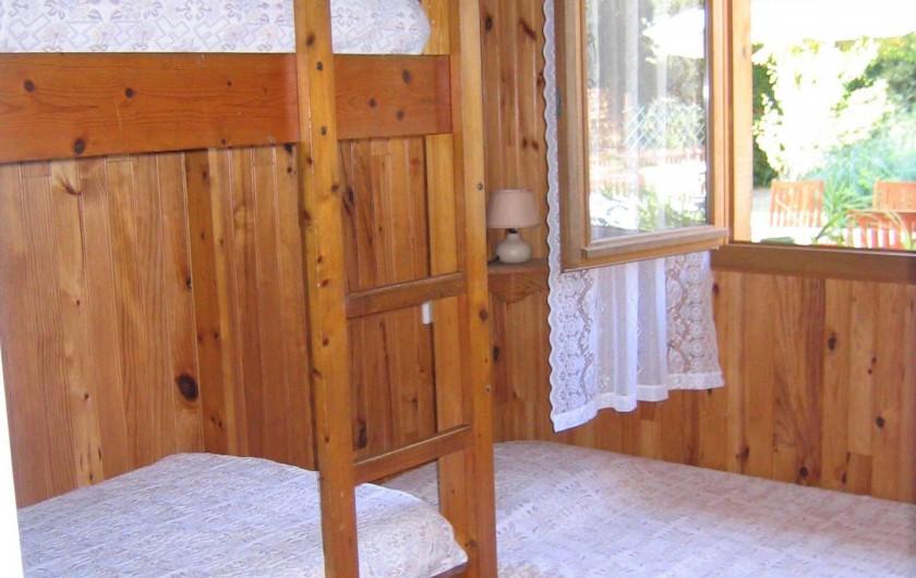 Location de vacances - Villa à Seignosse - chambre enfants