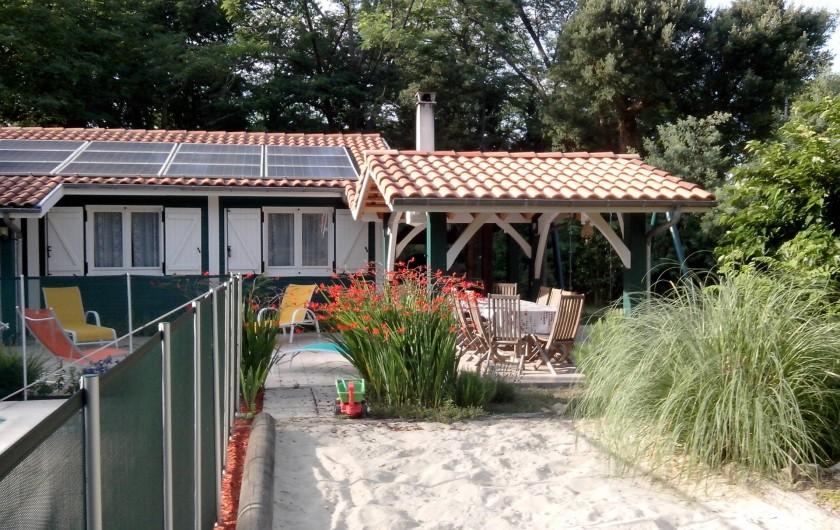 Location de vacances - Villa à Seignosse - plage- bac à sable