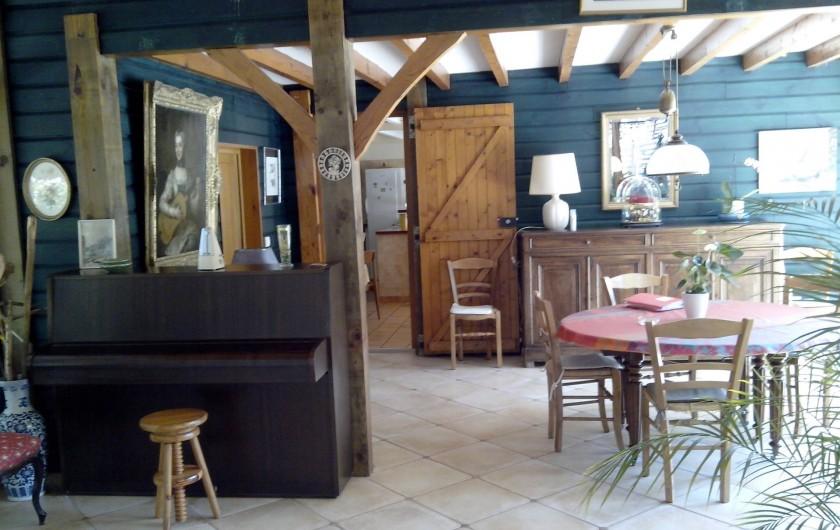 Location de vacances - Villa à Seignosse - séjour partie 2