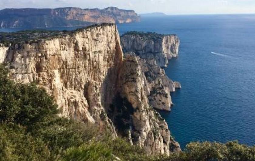 Location de vacances - Appartement à Cassis - le parc national des Calanques