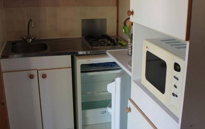 Location de vacances - Chalet à Joyeuse - Coin cuisine - Chalet Garrigue