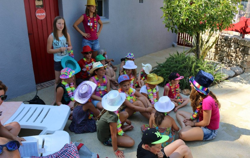 Location de vacances - Chalet à Joyeuse - Club enfants avec nos animatrices