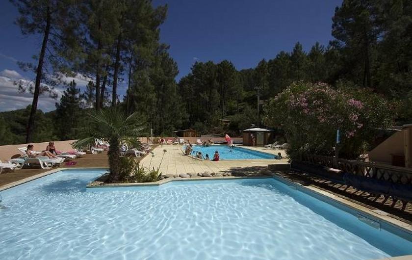 Location de vacances - Chalet à Joyeuse - Nos piscines chauffées