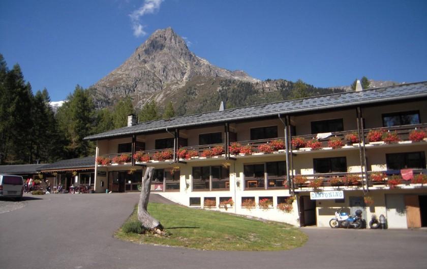 Location de vacances - Centre de vacances à Vallorcine - Chalet SKIROC - été