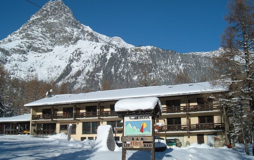 Chalet SKIROC - hiver
