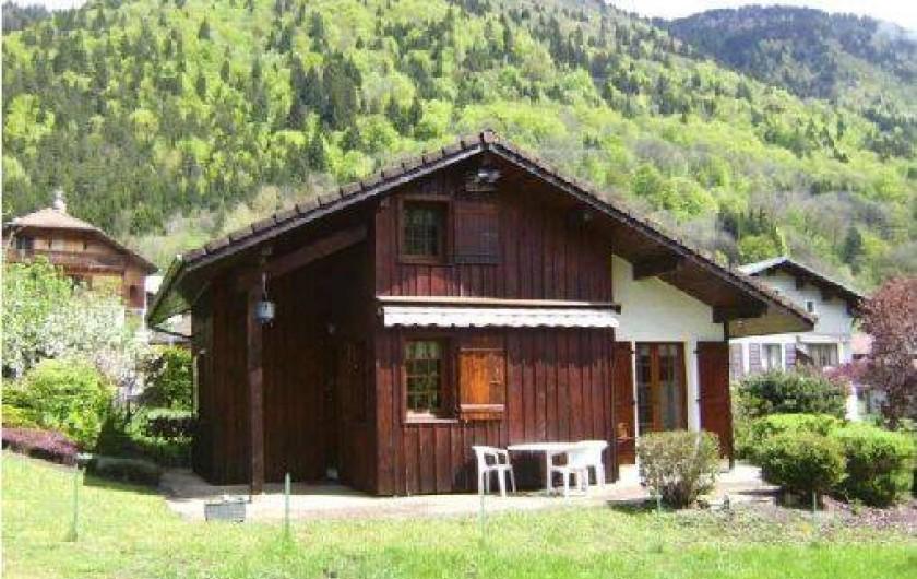 Location de vacances - Chalet à Morillon