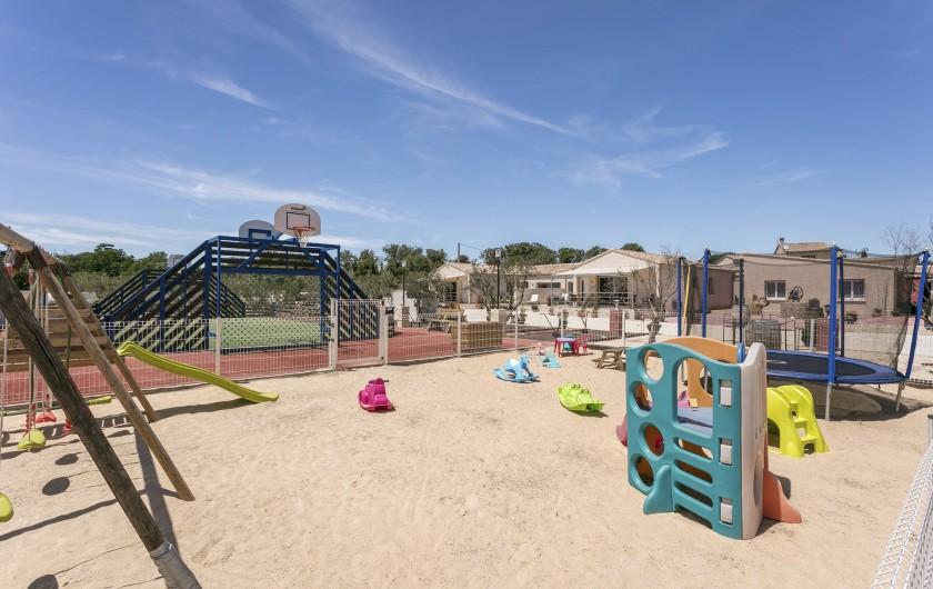 Location de vacances - Gîte à Pézenas - Jardin d'enfants