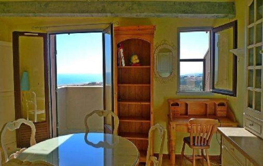 Location de vacances - Appartement à Saint-Pierre la Mer