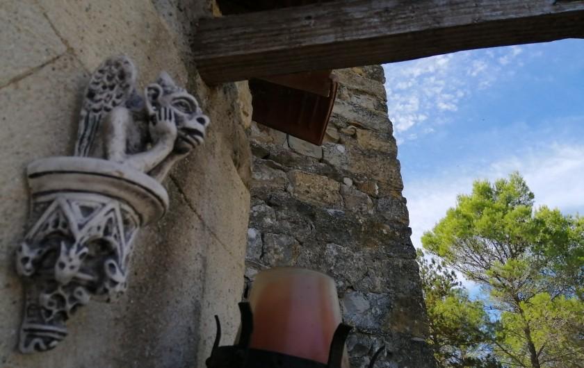 Location de vacances - Gîte à Servas - Entrée du Mas
