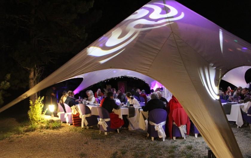 Location de vacances - Gîte à Servas - Chapiteau mariage