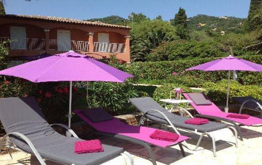 Location de vacances - Villa à Le Lavandou