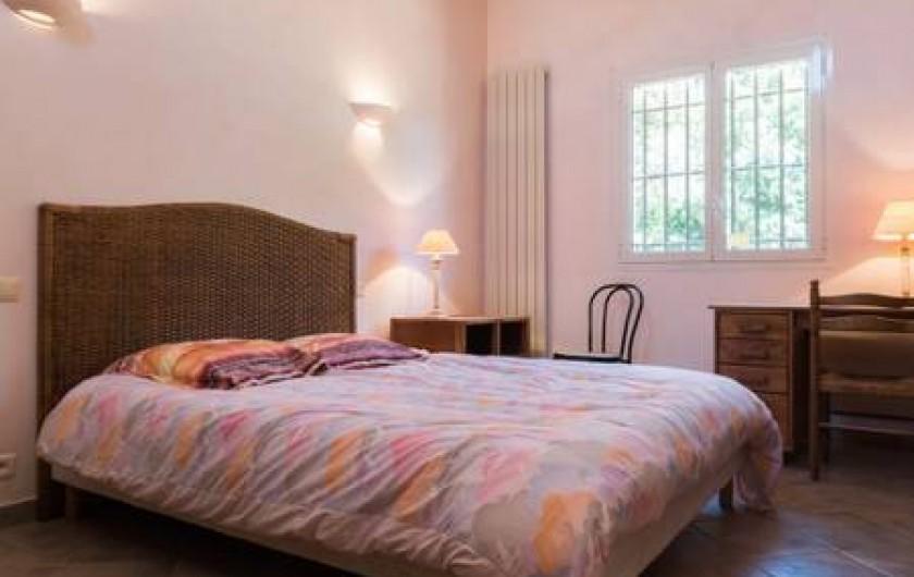 Location de vacances - Villa à La Cadière-d'Azur - chambre 2