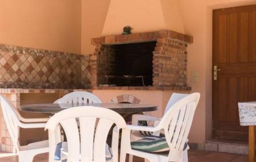 Location de vacances - Villa à La Cadière-d'Azur - barbecue bâti