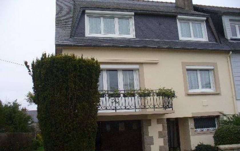 Location de vacances - Studio à Saint-Malo - Facade de la maison.