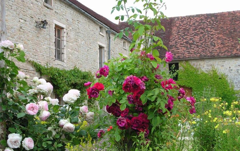 Location de vacances - Chambre d'hôtes à Gigny - Vue sur cour