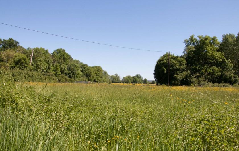 Location de vacances - Chambre d'hôtes à Gigny - Vue sur la campagne