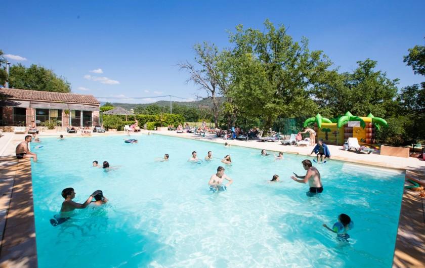 Location de vacances - Camping à Saint-Saturnin-lès-Apt