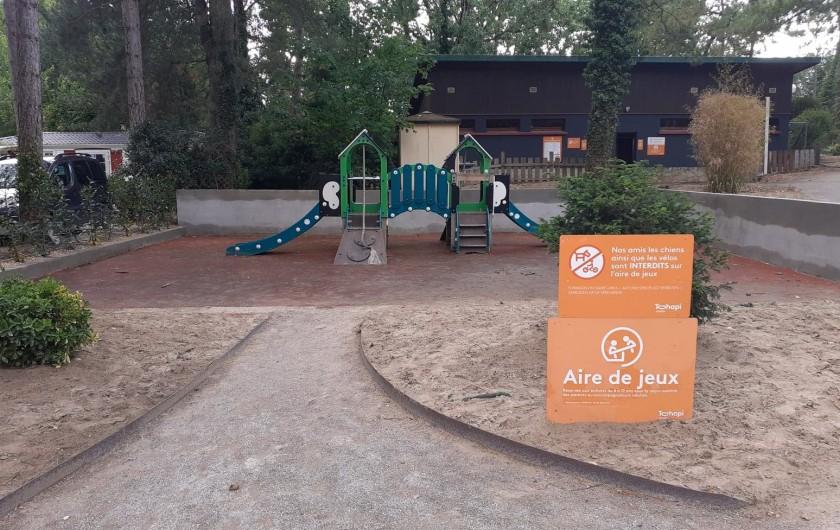 Location de vacances - Bungalow - Mobilhome à Camiers - Air de jeux