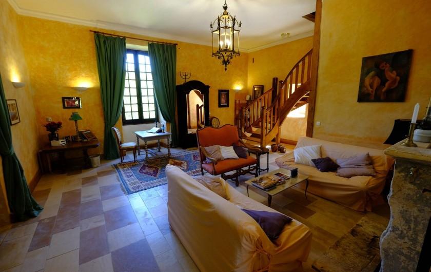 Location de vacances - Gîte à Cénac-et-Saint-Julien - Salon du gîte Dordogne
