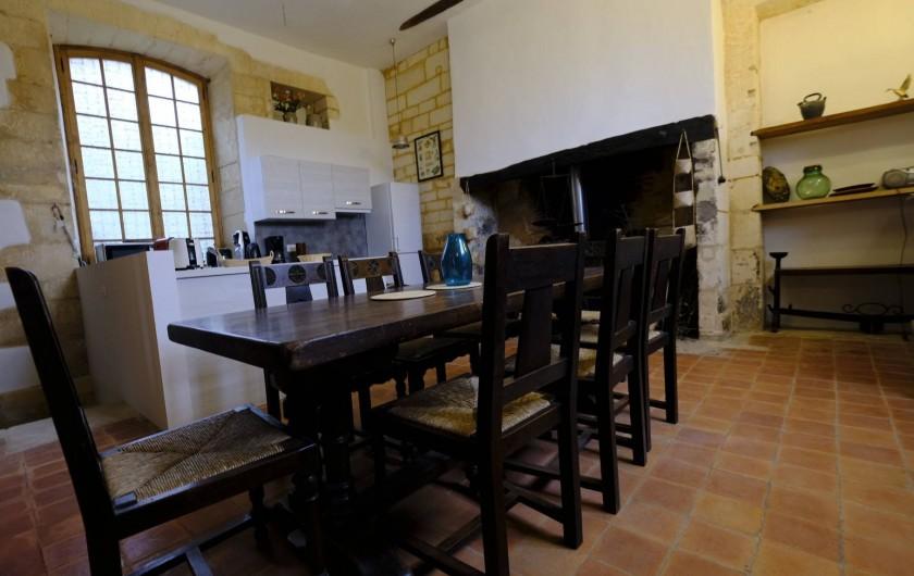 Location de vacances - Gîte à Cénac-et-Saint-Julien - Entrée du gîte Dordogne