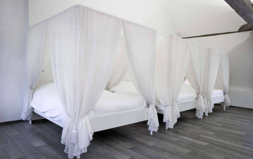 Location de vacances - Chambre d'hôtes à Beaune - La chambre familiale