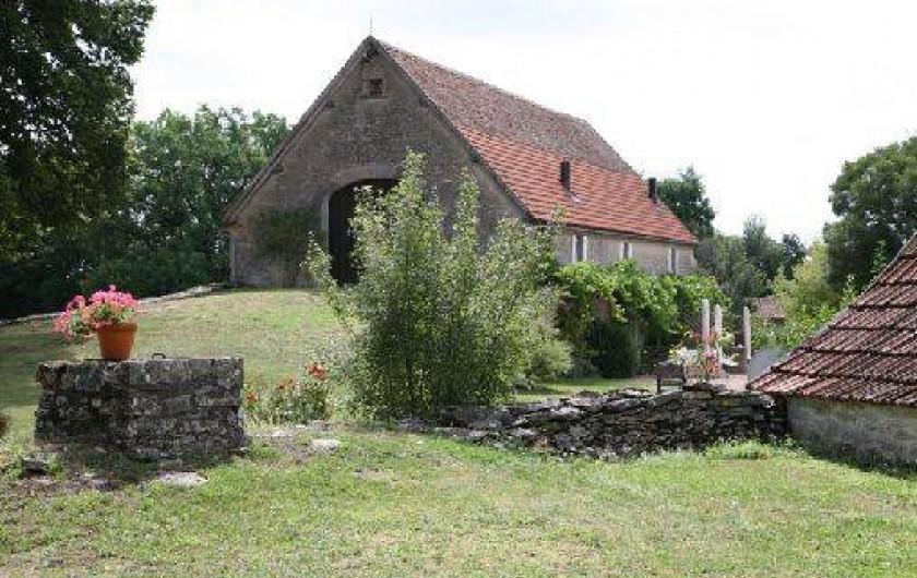 Location de vacances - Gîte à Gramat - Gîtes Marjolaine et Safran vus du gîte Sarriette