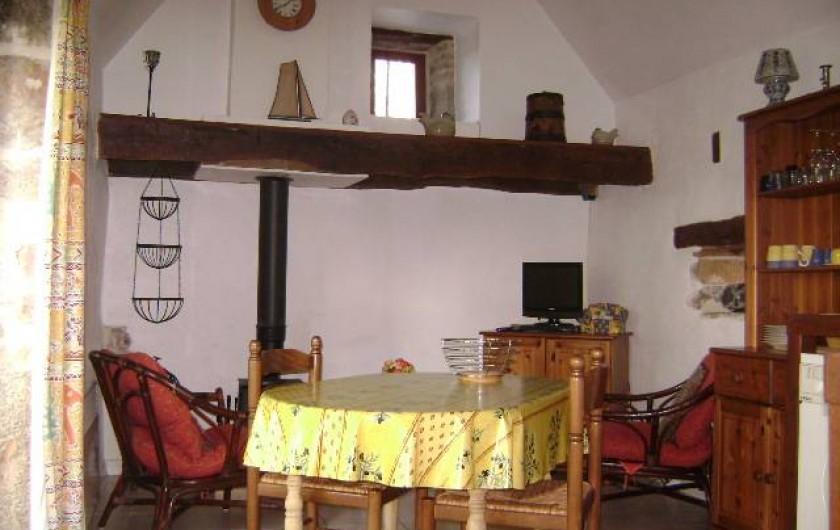 Location de vacances - Gîte à Gramat - Salon gîte Sarriette