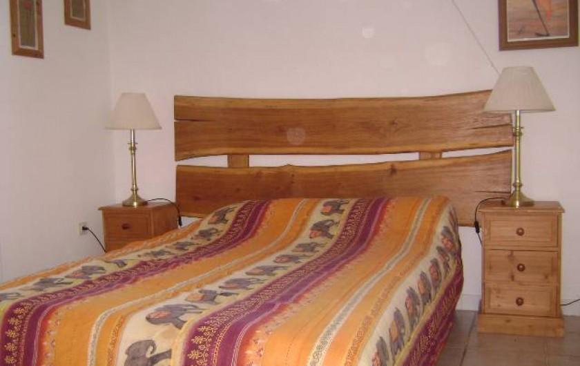 Location de vacances - Gîte à Gramat - Chambre gîte sarriette
