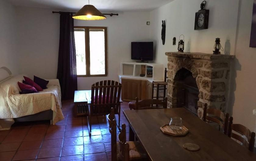 Location de vacances - Villa à Saignon - Salle de séjour