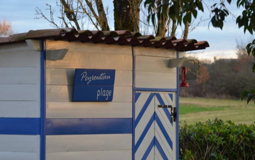Location de vacances - Gîte à Dému - Cabane de la piscine