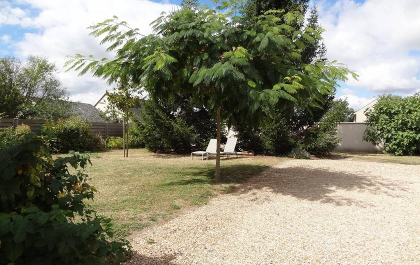 Location de vacances - Gîte à Avoine - Cour et Jardin