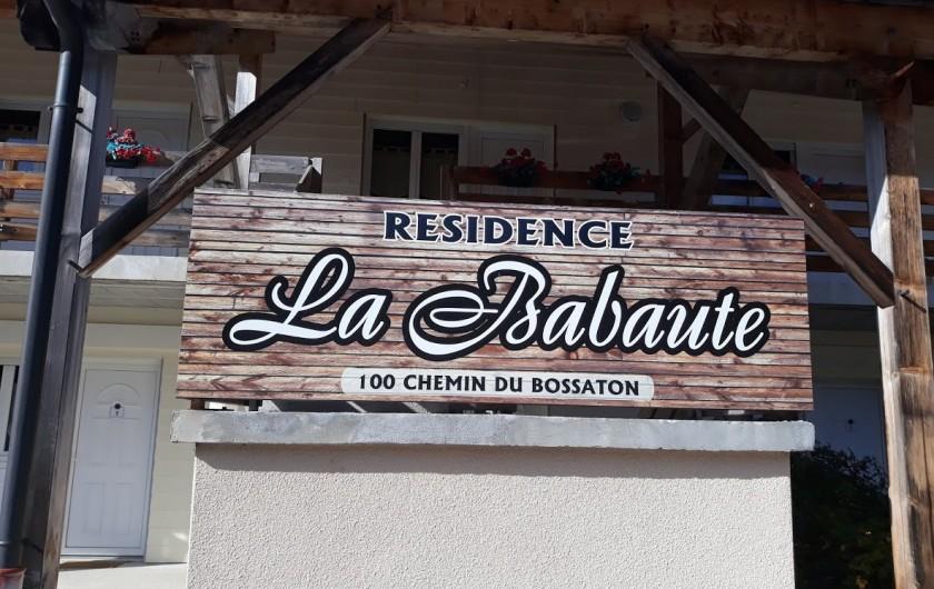 Location de vacances - Studio à Prémanon