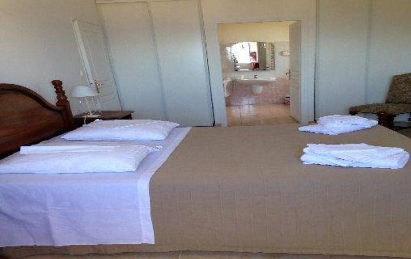 Location de vacances - Villa à Pietrosella - suite parentale