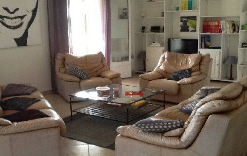 Location de vacances - Villa à Pietrosella - salon