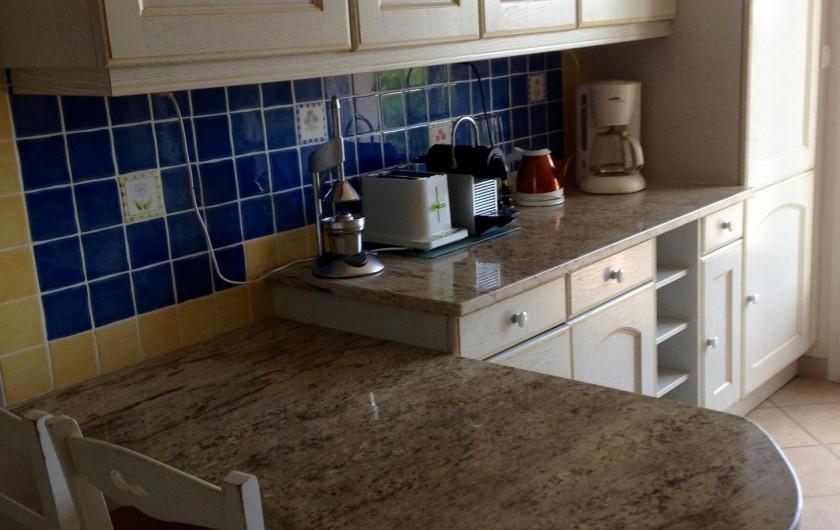 Location de vacances - Villa à Pietrosella - cuisine