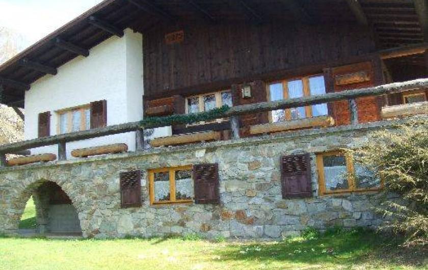Location de vacances - Studio à Saint-Gervais-les-Bains