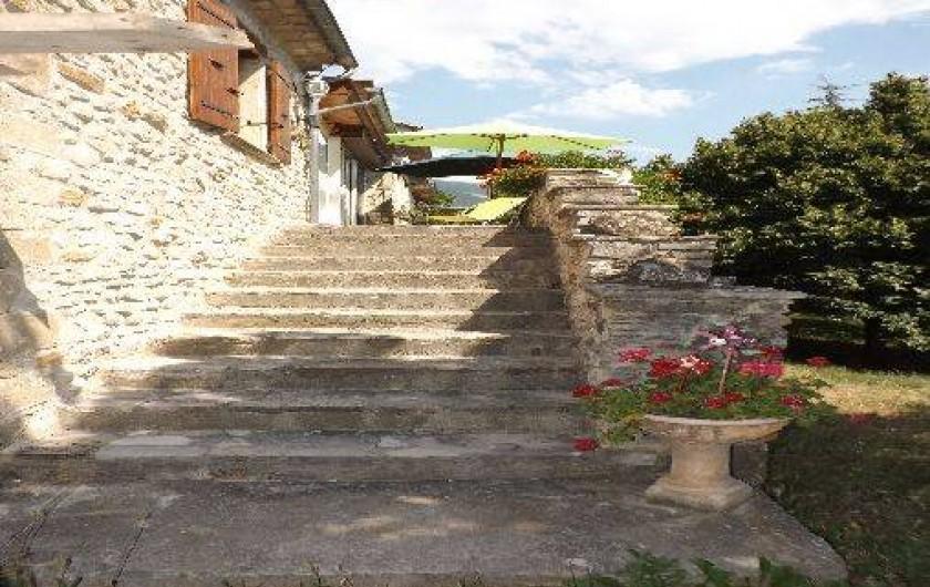Location de vacances - Appartement à Roche-Saint-Secret-Béconne