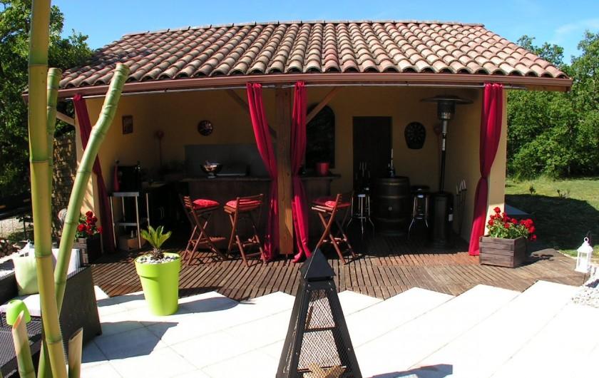 Location de vacances - Villa à Lalbenque - Poul-House