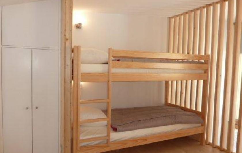 Location de vacances - Chalet à Xonrupt-Longemer - Eco-Lodge chambre 4 lits en mezzanine