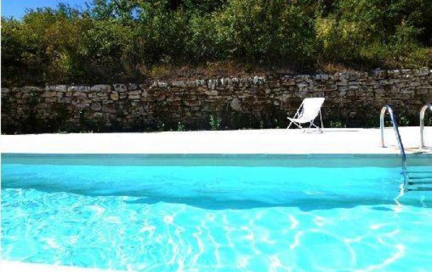 Location de vacances - Villa à Saignon - Piscine