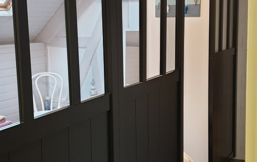 Location de vacances - Gîte à Le Crotoy - Chambre 4 traversante (Etage) 2 lit de 90