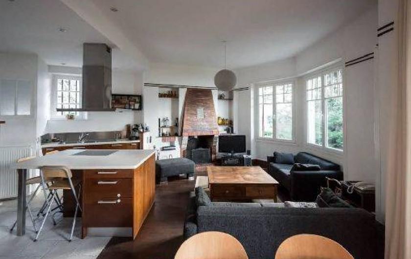 Location de vacances - Villa à Dinard - Salon / Cuisine