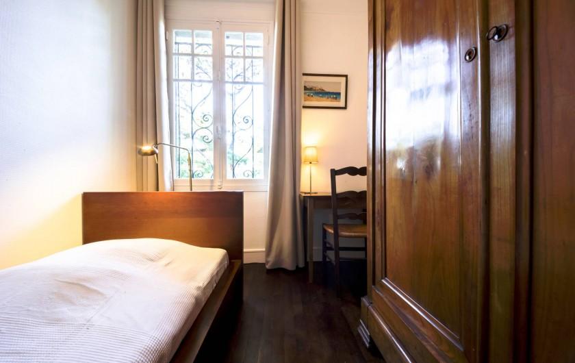 Location de vacances - Villa à Dinard - Chambre 4 - Lit 90 cm