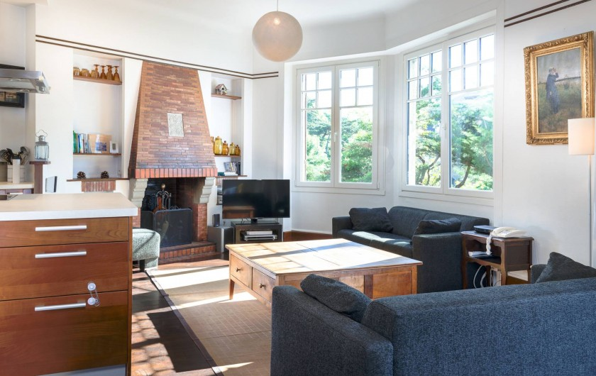 Location de vacances - Villa à Dinard - Salon