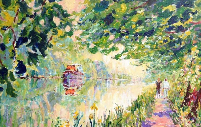 Location de vacances - Insolite à Villedubert - Peinture Lodela