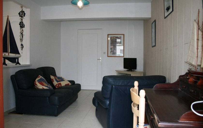 Location de vacances - Appartement à Wissant - coin salon