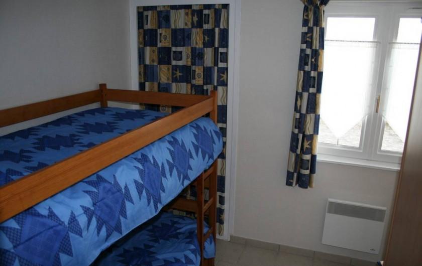 Location de vacances - Appartement à Wissant - chambre enfants