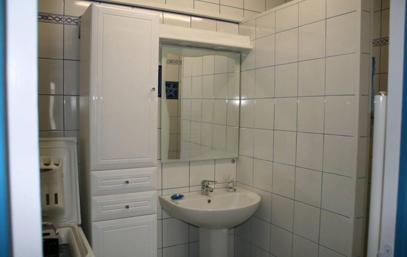 Location de vacances - Appartement à Wissant - salle d'eau